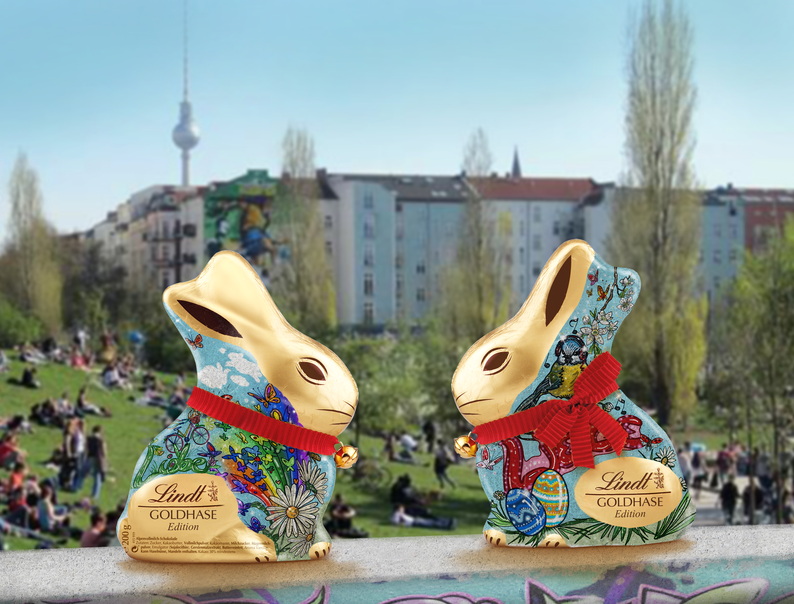 U-BUNNY (Sub-Bunny) Mock-up | © Christian Breil & Lindt Sprüngli Chocolates